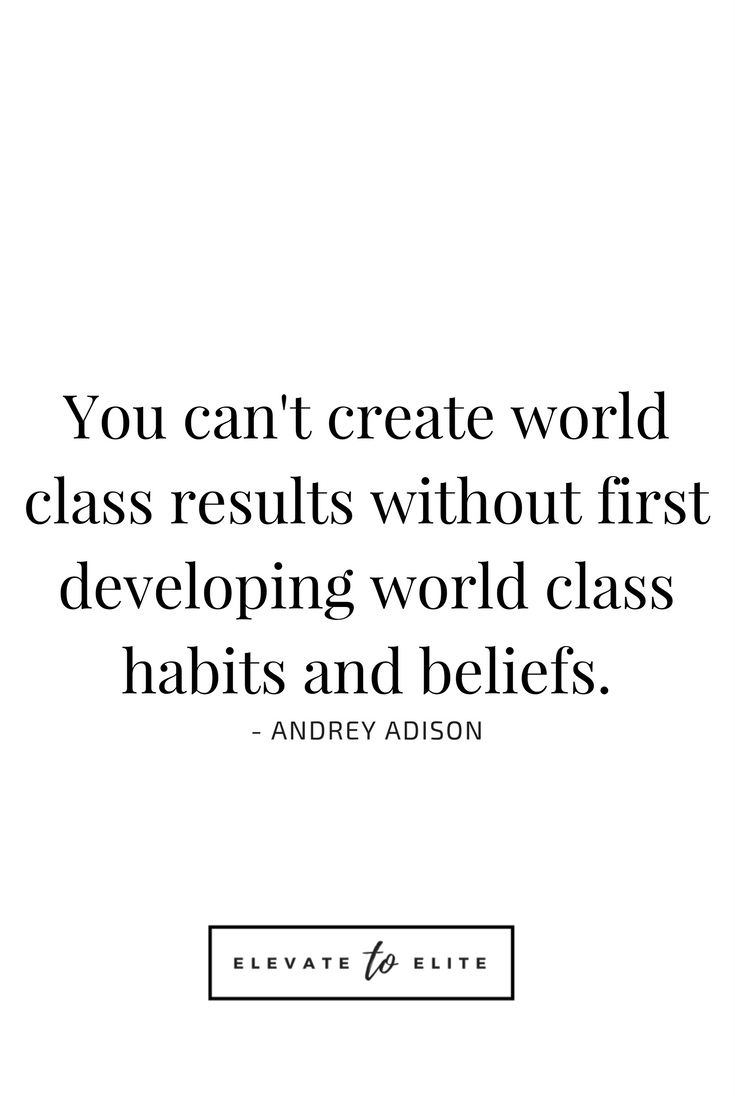 Power Of Small Habits