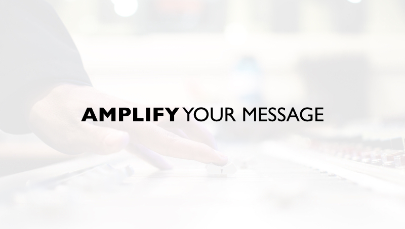 The Big Shift To AMPLIFY Your Marketing and Messaging Online